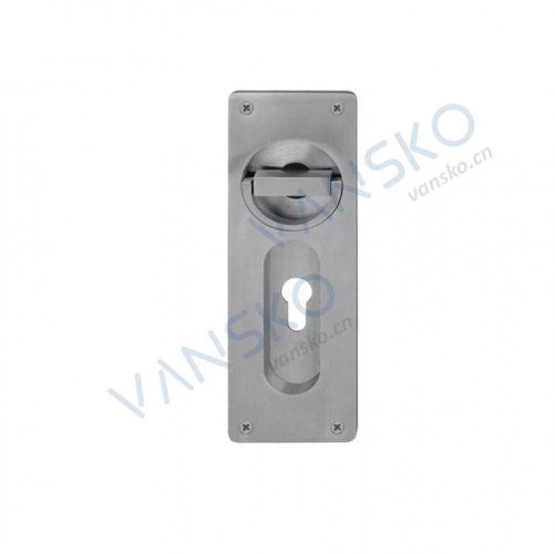 Stainless Steel Cavity Handle Hidden Handle Basement Cover Turnable CH006